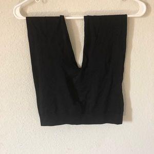 Black slim leggings
